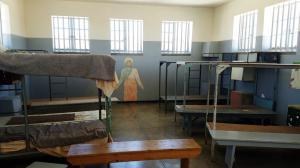 Barracks interior