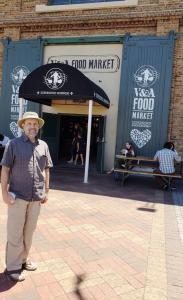 At the V&A Food Market
