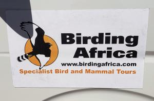 On tour! with Birding Africa