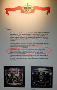 Interesting Drum Major history