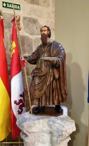 St James (Santiago) in the Albuerge de Peregrinos, Burgos