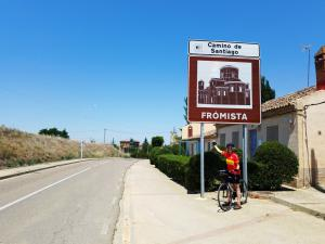 Entering Frómista