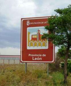 Entering the province of León