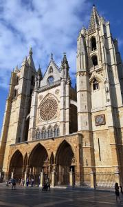León cathedral, 13th century, original building completed in only 50 years