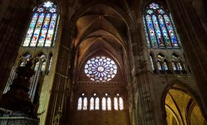 León cathedral, best stained glass outside of France