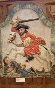 Santiago Matamoros - an image of the Reconquista