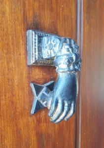 My kind of door knocker