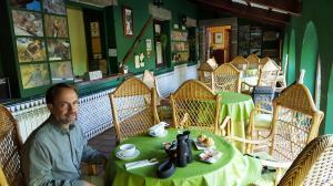 Bar area at Hostal Almanzor