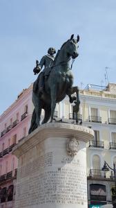 Carlos III in the Puerto del Sol
