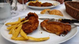 Lunch at El Capricho Extreme�o, Calle de Toledo