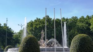 Neptune statue, Paseo del Prado