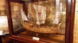 Model of Columbus' Niña, a caravelle