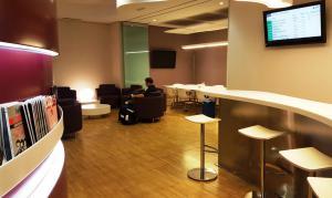 VIP lounge, Madrid Chamartin train station