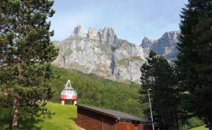 Fuente Dé cablecar in Picos de Europa National Park