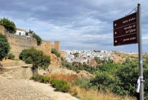 On the walking path around the city walls, Ronda