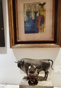 Bullfighting art at the Parador de Ronda
