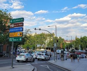 Madrid, near Atocha station