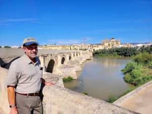 Robert at the Puente Romano, Córdoba