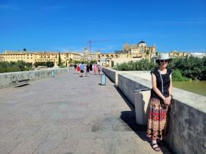 Liza on the Puente Romano, Córdoba