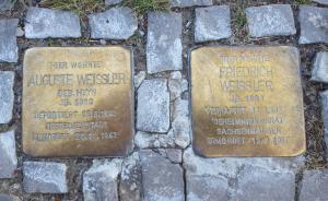 Stolpersteine at 7 Meiningenallee, Berlin