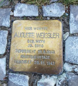 Auguste - Robert's great-grandmother