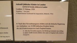 Exhibit on the Kinder Transport