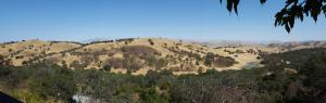 San Benito Valley, CA panorama