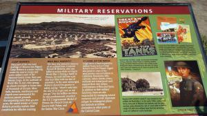 Camp Roberts, CA rest area, some history